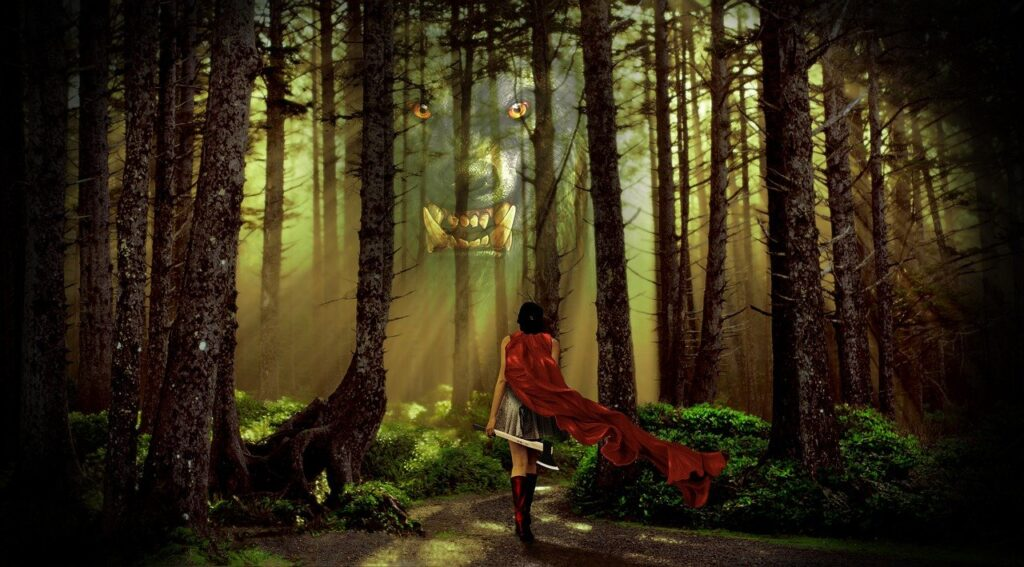 fairy tale, revisionist, red riding hood